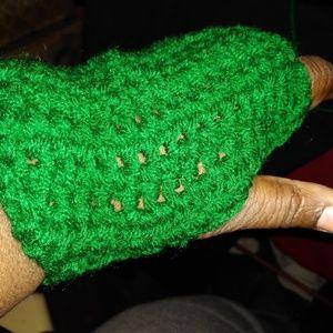 Other - Crochet hats, scarves, fingerless mittens, dog swe